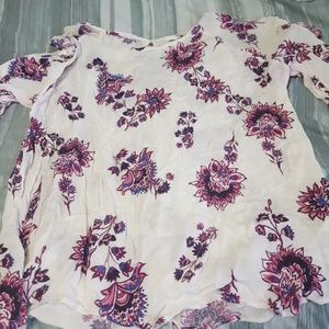 old navy open shoulder wore twice Xl